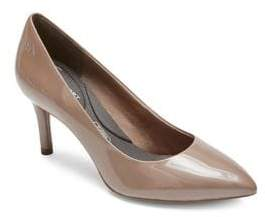 Rockport Total Motion Point Toe Patent Leather Pumps