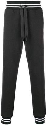 Dolce & Gabbana elasticated cuff jogging bottoms