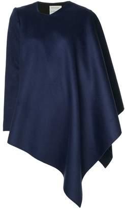 Maison Rabih Kayrouz asymmetric cape-style jacket