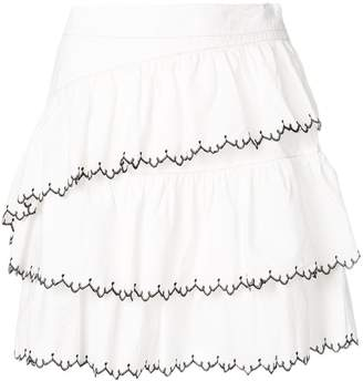 Ulla Johnson tiered short skirt