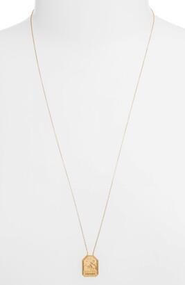 Jennifer Zeuner Jewelry Kiana Zodiac Pendant Necklace