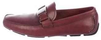 Salvatore Ferragamo Sardegna 8 Leather Loafers