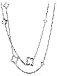 David Yurman Quatrefoil Chain Necklace
