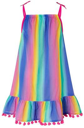 Angels By Accessorize Girls Angels by Accessorize Purple Ombre Rainbow Dress - Purple