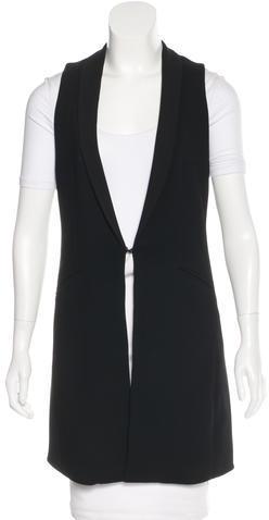 Alice + OliviaAlice + Olivia Oversize Shawl Lapel Vest