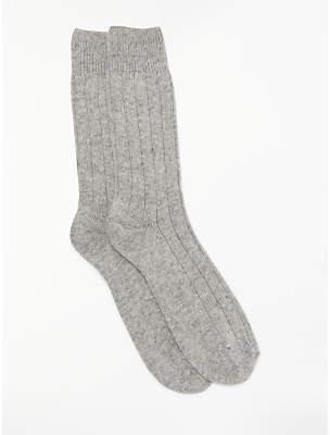 John Lewis & Partners Cashmere Mix Socks