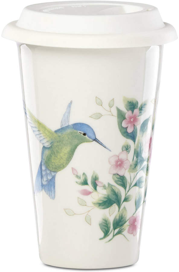 Lenox Butterfly Meadow Holiday Flutter Thermal Travel Mug