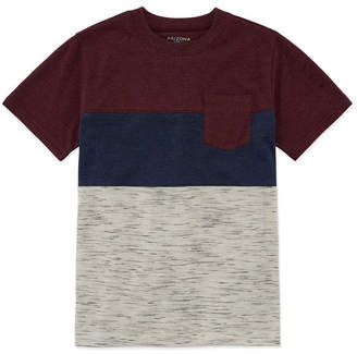 Arizona Short Sleeve Colorblock T-Shirt Boys 4-20