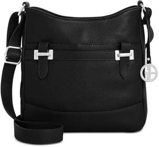 Giani Bernini Pebble Bridle Crossbody, Created for Macy's