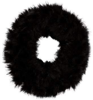 Theory Fur Knit Neck Warmer