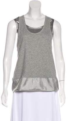 Marc by Marc Jacobs Sleeveless Two-Tone Top