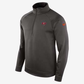 Nike Therma (NFL Buccaneers) Men's Half-Zip Long Sleeve Top