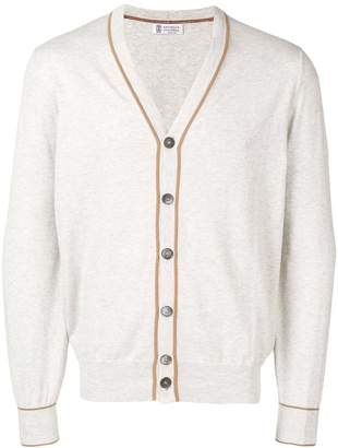Brunello Cucinelli slim-fit cardigan