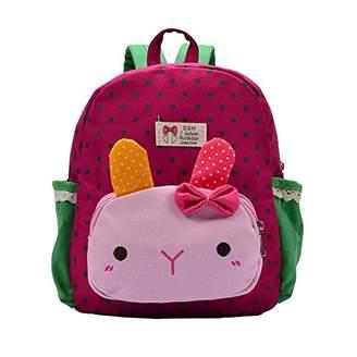 Baynne Lovely Rabbit Cartoon Printed Children Backpacks Kindergarten School Bag