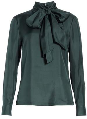 Ted Baker Marther Tie Neck Silk Blouse
