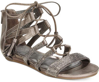 Kenneth Cole Reaction Women's Lost Look 2 Lace-Up Gladiator Sandals $69 thestylecure.com