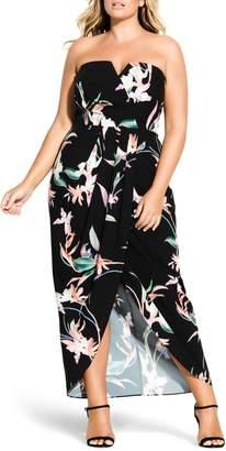 City Chic Lovebirds Maxi Dress