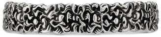 Gucci Lion mane cuff bracelet with crystal