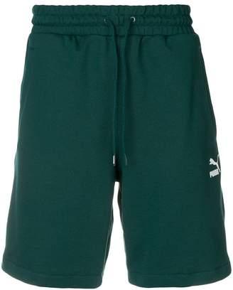 Puma logo tape shorts