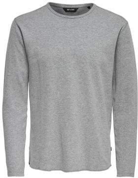 ONLY & SONS Textured Cotton Sweatshirt