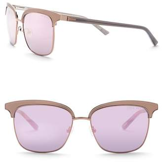Ted Baker 55mm Clubmaster Sunglasses