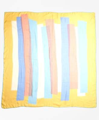 Brooks Brothers Geometric-Print Cashmere-Silk Scarf