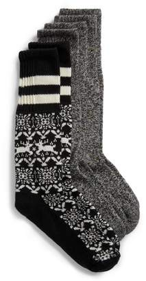 Hue 3-Pack Cowgirl Boot Socks