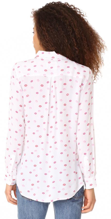 RAILS Rocsi Kiss Me Button Down Shirt 5