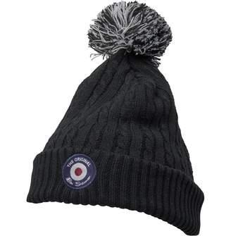 9c1c9c4eb5e383 Ben Sherman Boys Bobble Hat Black