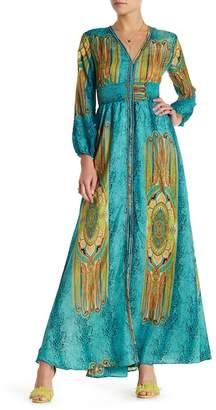 Gracia Long Sleeve Caftan Dress