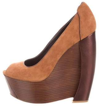 Rachel Zoe Platform Wedge Pumps