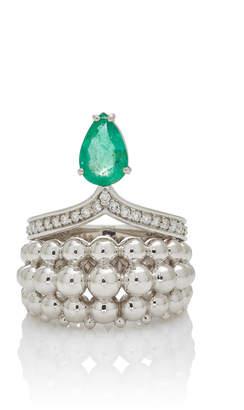 Ring Jardim Japones Emeralds