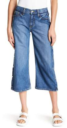 Siwy Denim M.J. Cropped Wide Leg Jeans