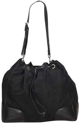 Prada Vintage Black Synthetic Handbag