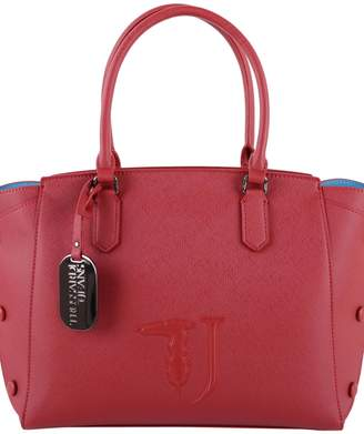 Trussardi Faux Leather Melissa Tote Top Handle
