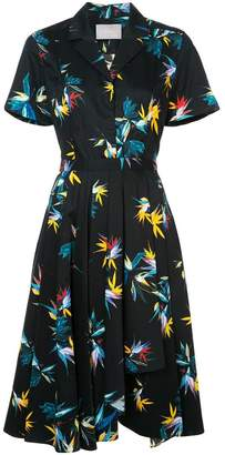 Jason Wu floral print shirt dress