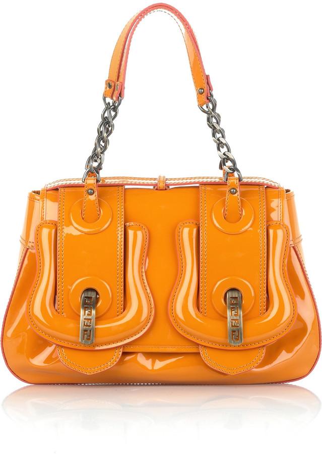 Fendi Patent leather B bag