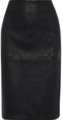 By Malene Birger Floridia Leather Pencil Skirt