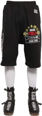 Kokon To Zai Casino Printed Cotton Jogging Shorts