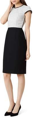 Hobbs London Lara Color-Block Sheath Dress