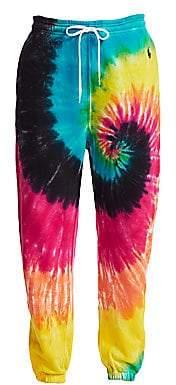 Polo Ralph Lauren Women's Tie Dye Jogger Sweatpants