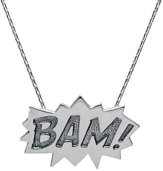 Edge Only - Bam Pendant Large Long in Silver