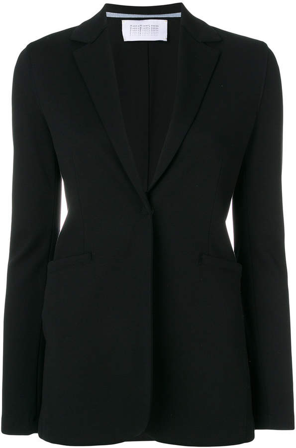 front button blazer