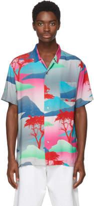 Double Rainbouu Red and Pink Moon Safari Shirt