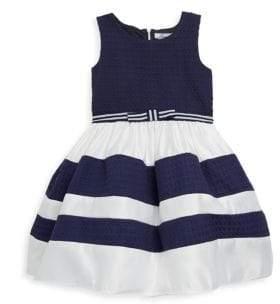 Little Girl's Leslie Sleeveless Dress
