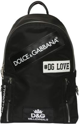 Dolce & Gabbana Love Nylon Backpack