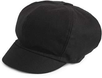 Nine West Soft Wool Newsboy Cap