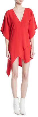 IRO Ekima High-Low Mini Dress