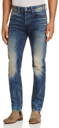 G-STAR RAW Straight Fit Jeans in Dark Aged $180 thestylecure.com