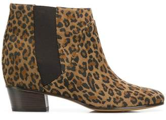 Golden Goose leopard ankle booties